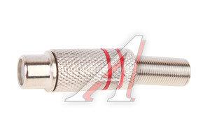 Штекер RCA (гнездо) металл PREMIER 1-211,