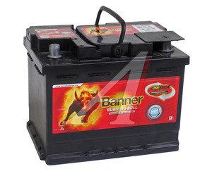 Аккумулятор BANNER Running Bull 60А/ч обратная полярность AGM 6СТ60,