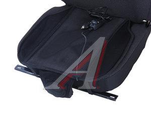 Накидка на сиденье с охлаждающим эффектом и управлением без спинки 12V черная AUTOSTANDART 101351
