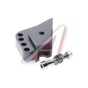 Проставка амортизатора для скутера ТИП 2 (1шт.) карбон 4620767361167