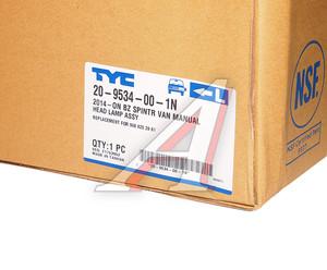 Фара MERCEDES Sprinter (14-) левая TYC 20-9534-00-1N, 9068202861