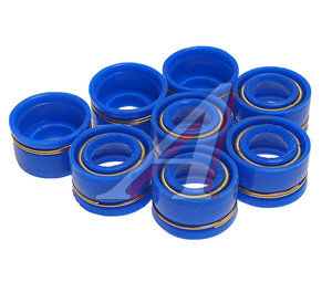 Колпачок ЯМЗ маслоотражательный синий силикон (упаковка 8шт.) 236-1007262