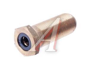 Соединитель трубки ПВХ,полиамид d=8мм (наружная резьба) М18х1.5 латунь CAMOZZI 9590 8-M18X1,5-S01,