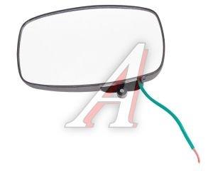 Зеркало боковое ГАЗ-3302 основное сферическое с подогревом правое 12V 253х153мм КРУГОВОЙ ОБЗОР 3302-8201416
