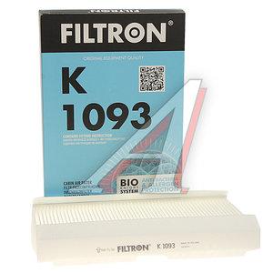 Фильтр воздушный салона PEUGEOT 307,308 CITROEN C3,C4,DS4 FILTRON K1093, LA138