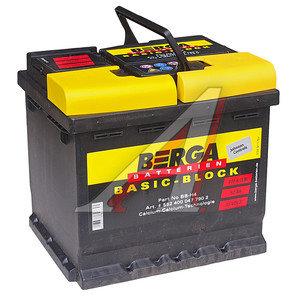 Аккумулятор BERGA Basicblock 52А/ч обратная полярность 6СТ52 BB-H4-52, 552 400 047 7902