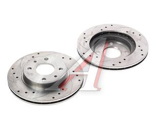Диск тормозной ВАЗ-2110 вентилируемый комплект АвтоВАЗ Lada Sport 2110-3501070-88, 211003501070-88, 2110-3501070