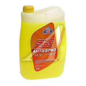 Антифриз желтый -65С 5л Antifreeze Z65 AGA AGA043Z