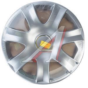 Колпак колеса R-15 декоративный серый комплект 4шт. 326 326 R-15