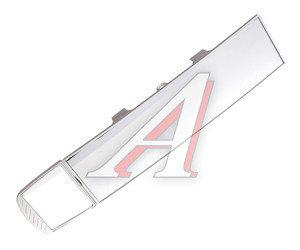 Зеркало салонное панорамное 270х70мм антиблик 2 в 1 Silver АВТОСТОП AB-35758S,