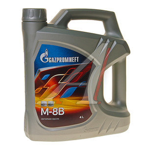 Масло моторное М8В мин.3.54кг/4л GAZPROMNEFT GAZPROMNEFT М8В, 2389901394
