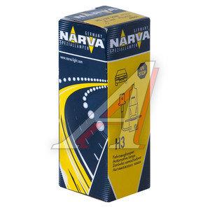 Лампа H3 12V 55W NARVA 48321, N-48321, АКГ12-55-1 (H3)