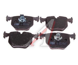 Колодки тормозные BMW E46, 39, 38, X5, Z8 задние (4шт.) TRW GDB1530, GDB1304/1530, 34213403241
