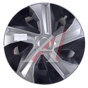 Колпак колеса R-15 декоративный ринг микс черный комплект 4шт. ЛУНА МИКС ЛУНА МИКС чер R-15