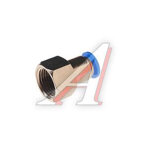 """Фитинг для пластиковых трубок 3/8"""" 8мм с внутренней резьбой ROCK FORCE RF-SPCF08-03"""