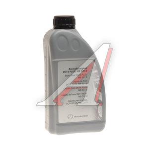 Жидкость тормозная DOT-4 1л Plus OE A000989080713