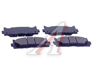 Колодки тормозные TOYOTA Camry (V40) (06-) LEXUS ES350 (06-) передние (4шт.) SANGSIN SP2080, GDB3429
