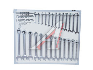 Набор ключей комбинированных 6-32мм 26 предметов на стенде изгиб 15град. FORCE F-5261, 5261,
