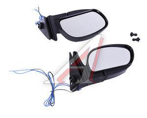 Зеркало боковое ВАЗ-2104,2105,2107 повторитель,черное комплект PRO SPORT RS-05857, , 2105-8201050
