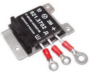 Реле регулятор напряжения 28В ЭМ 621/7412.3702, 621.3702 (аналог 7412.3702),