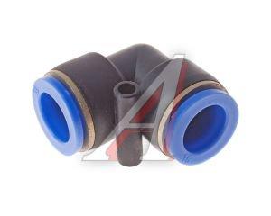 Соединитель трубки ПВХ,полиамид d=15мм угольник PUL15, АТ-349