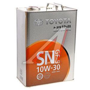 Масло моторное SN 08880-10805 п/синт.4л SAE10W30 TOYOTA 08880-10805, TOYOTA 10W30