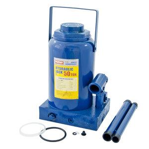 Домкрат бутылочный 50т 300-480мм с клапаном MEGAPOWER M-95004
