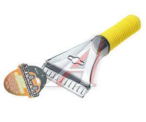 Скребок для льда с водосгоном и мягкой ручкой 22х9см АВТОСТОП AB-2111