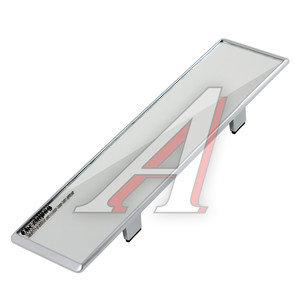 Зеркало салонное прямое 300мм антиблик Silver АВТОСТОП AB-35721S, AB-35721,