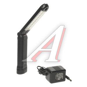 Лампа 12V переносная аккумуляторная, с изменяемым углом наклона 45град. (30 светодиодов) JTC JTC-5613