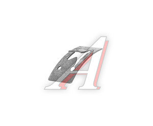Держатель ГАЗ-31029 эмблемы решетки радиатора (ОАО ГАЗ) 13-8402194