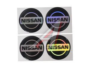 """Эмблема диска колесного """"NISSAN"""" (6см) комплект 4шт. 04683"""