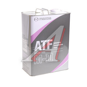 Масло трансмиссионное ATF для АКПП M-III K004-W0-046S 4л MAZDA K004-W0-046S, MAZDA ATF
