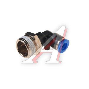"""Фитинг для пластиковых трубок 1/2"""" угловой 8мм с наружной резьбой ROCK FORCE RF-SPL08-04"""