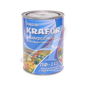 Грунт-эмаль по ржавчине серый 1л KRAFOR KRAFOR