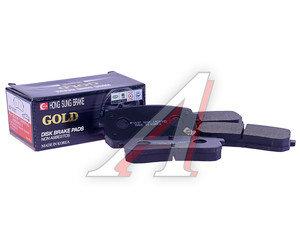 Колодки тормозные HYUNDAI iX55 (08-) KIA Carnival (05-) задние (4шт.) HSB HP1037, GDB3449/58302-4DE00/58302-4HA50, 58302-4DE00