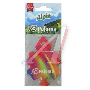 Ароматизатор подвесной пластина (alpin) Classic PALOMA PALOMA 210101 Альпин, 210101