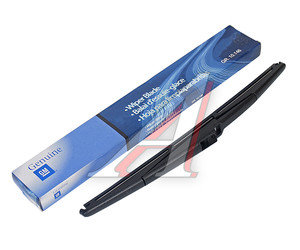 Щетка стеклоочистителя CHEVROLET Spark 300мм задняя OE 96688389