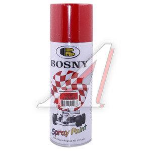 Краска красная акриловая аэрозоль 400мл Acrylic Spray Paint BOSNY BOSNY 6, PR-6