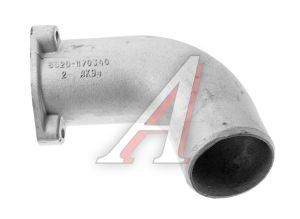 Патрубок КАМАЗ-6520 теплообменника правый (ОАО КАМАЗ) 6520-1170340