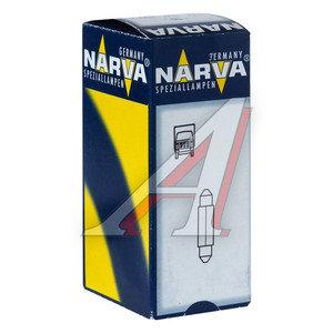 Лампа 24V C3W SV7.5 двухцокольная NARVA 17104, N-17104