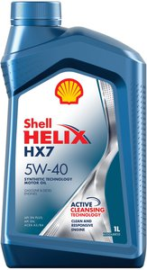 Масло моторное HELIX HX-7 п/синт.1л SHELL SHELL SAE5W40