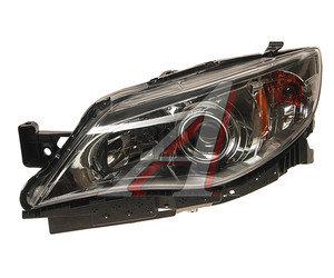 Фара SUBARU Impreza седан (08-) левая (хромированная окантовка) TYC 20-9122-00-1A, 320-1118L-AS1, 84001FG070