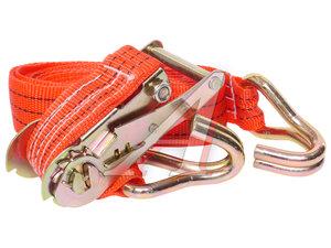 Стяжка крепления груза 1.8т 6м-38мм (полиэстр) с храповиком,сумка АВТО-ТРОС СТЯЖКА 1.8-6м