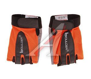 Перчатки велосипедные BOULDER оранжевые BOULDER
