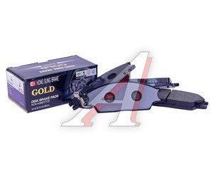 Колодки тормозные HYUNDAI Accent (99-),Getz,Coupe передние (4шт.) HSB HP0004, GDB3331/GDB373, 58101-22A00