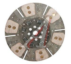 Диск сцепления МТЗ-80,82 ведомый (специальная металлокерамическая накладка) БЗТДиА 80-1601130 А, 80-1601130-А