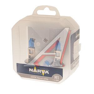 Лампа 12V H1 55W + W5W P14.5s бокс 2шт.+2шт. Range Power NARVA 98014S2, N-98014RPW2