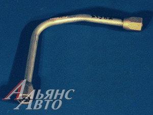 Трубка тормозная КАМАЗ от ресивера к клапану 53212-3506204,
