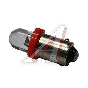 Лампа 12VхT4W (BA9s) ROUND RED 1 свет-од MEGA ELECTRIC ME-0406R